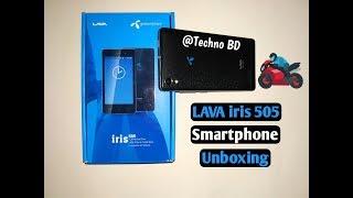 Lava IRIS 505 Smartphone Unboxing