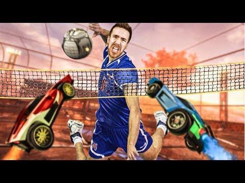 VOLLEYBALL ROCKET LEAGUE IS ACTUALLY HERE!