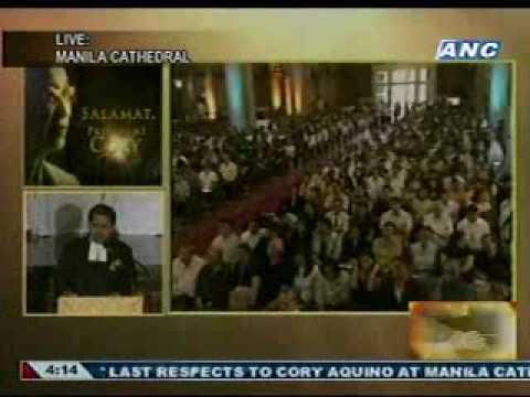 Cory Aquino Funeral: Br. Armin Luistro