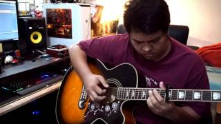 Grow old with you (Fingerstyle Cover) - Arr. Daniel Cesar Cambay + TABS