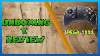 IPEGA 9021 BLUETOOTH GAMEPAD•UNBOXING Y REVIEW