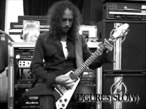 Kirk Hammett (Metallica) - Guitar Lesson,Master Of Puppets