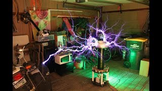 Sail - Awolnation on Musical Tesla coil