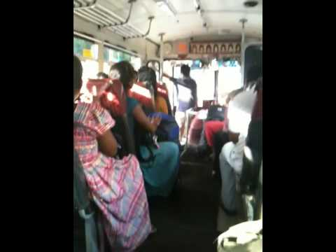 In A (not Crowded) Bus  Sri Lanka video