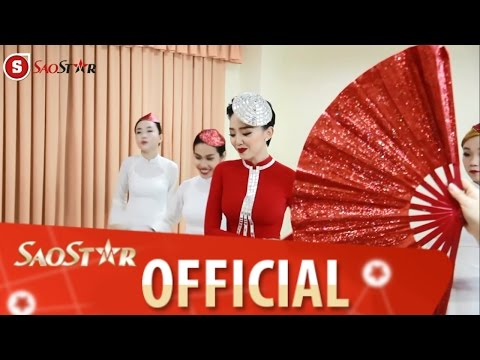 Tóc Tiên nhảy múa vui nhộn trong hậu trường The Remix 2015