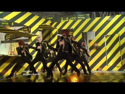 Beast - Mystery, 비스트 - 미스테리, Music Core 20100109 video