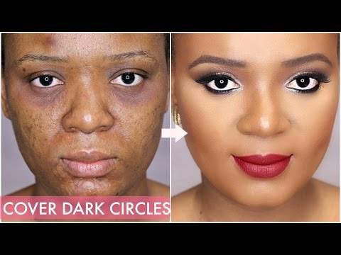 Makeup for under eye dark circles