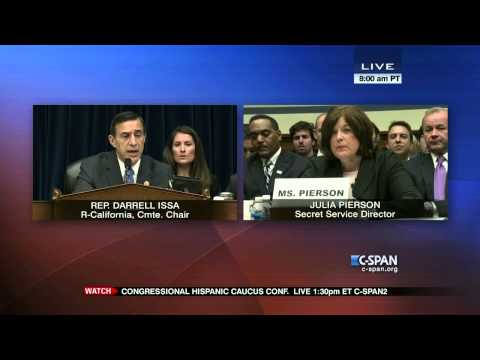 Rep. Issa questions Secret Service Director (C-SPAN)