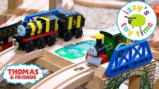 Thomas and Friends | Thomas Train Bridge Tunnel Challenge with Brio | Videos for Children
