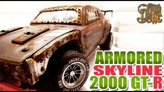 RC DRIFT SKYLINE 2000 GT-R ARMORED