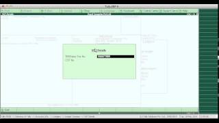 Tally erp 9 Vat entry and Vat returns with Actual Business Data