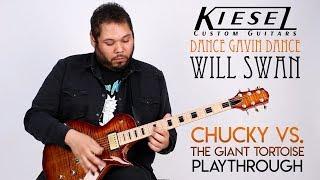 """Kiesel Guitars - Will Swan - """"Chucky vs. The Giant Tortoise"""" Playthrough - Dance Gavin Dance"""