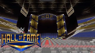 Minecraft WWE Hall OF Fame 2016 arena