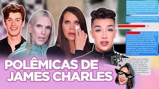 JAMES CHARLES: TRETA COM TATI E JEFFREE STAR, POLÊMICA COM HÉTEROS, TRANSFOBIA, CASO EBOLA |Foquinha