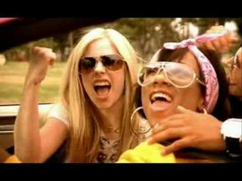 Avril Lavigne - Girlfriend Remix (ft. Lil' Mama) (Clean)