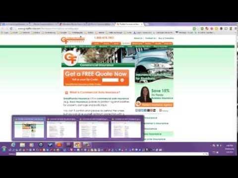 Auto Commercial Insurance Quotes -- Florida, New york, Texas, California