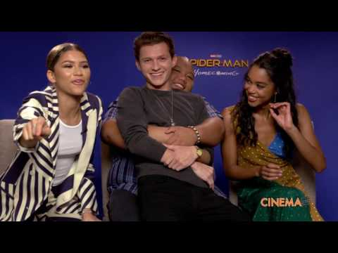Zendaya, Jacob Batalon and Laura Harrier talk Spider-Man Homecoming thumbnail