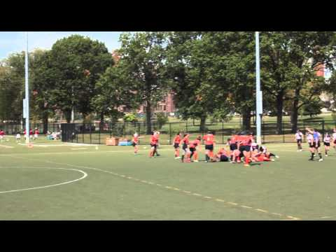 2014 WPL - Twin Cities Amazons vs. New York Rugby Club  (9/28/14)