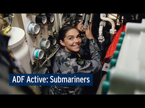 ADF Active: Keeping fit and healthy on Submarines