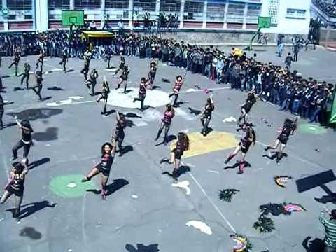 danza chivas colegio 24 de Mayo presentación colegio Juan Pío Montufar