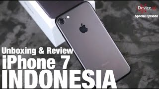 Unboxing & Review iPhone 7 Black - INDONESIA by idevice.id