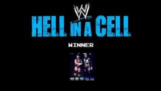 WWE Hell In A Cell 2013 Match Card and Winners