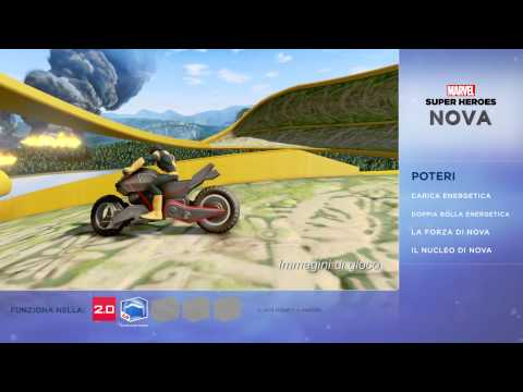 Disney Infinity 2.0 -- Marvel Super Heroes: Nova | HD