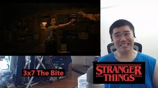 Stranger Things Season 3 Episode 7- The Bite Reaction and Discussion!