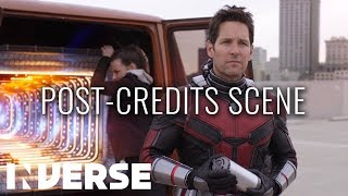 Full Ant-Man And The Wasp Mid Credit Scene | Director Peyton Reed Commentary