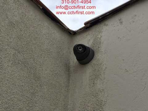 CCTV Security Video Surveillance Cameras Installation Los Angeles