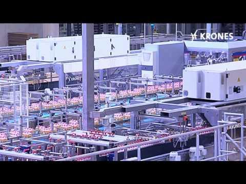 Krones machinery at Vitaqua