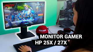 ¿Los MEJORES monitores GAMER del 2019? - Nuevos HP 25/27x para GAMING COMPETITIVO