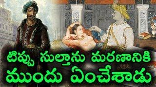 టిప్పు సుల్తాను మరణానికి ముందు ఏంచేశాడు    Tipu Sultan life History in Telugu    T Talks