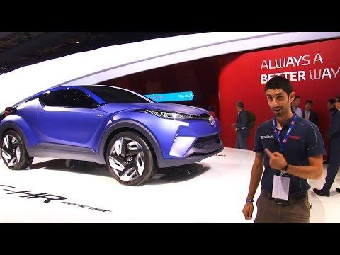 Toyota C-HR Concept al Salone di Parigi 2014