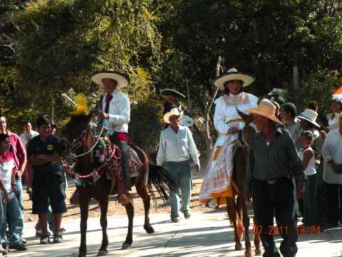 CHILA DE LAS FLORES,PUE  FIESTA EN EL BARRIO DE LA 1RA 2011