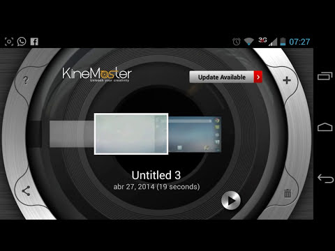 Descarga el Mejor Editor de Video  Para Android GRATIS | KineMaster Pro Version FULL