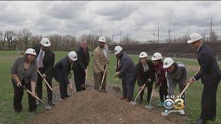 Mayor Kenney Helped Break Ground On A New $3-Million Sports Complex