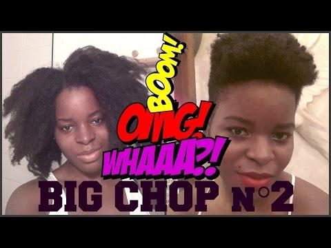 BIG CHOP à nouveau!!!
