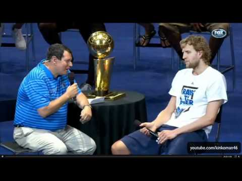Dirk Nowitzki - Dallas Mavericks Victory Parade