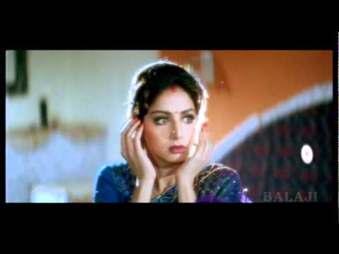 Gorgeous Srdevi in a scene from telugu movie SPParasuram (1996)