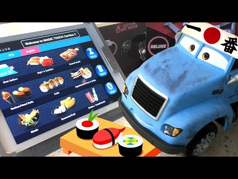 Disney Cars 3 Toys Hunt WE FOUND MR DRIPPY & BULLET TRAIN SUSHI UNBOXING - Disney Cars 3 Toy Hunting