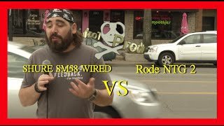 Using a Handheld vs a Shotgun Microphone doing interviews on the street