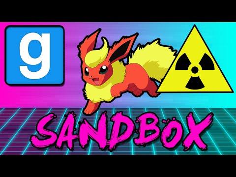 NUCLEAR FLAREON! (Gmod Sandbox Funny Moments)