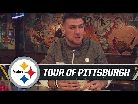 T J Watt Welcomed To Pittsburgh