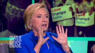 Hillary Clinton on her concern about Facebook and propaganda (Sep 25, 2017)   Charlie Rose