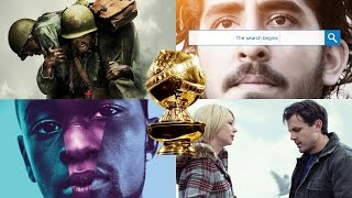 2017 Golden Globes Nominees Best Motion Picture - Drama