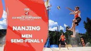 Nanjing – 2018 Beach Volleyball U19 World Championships  - Men Semi Final 1