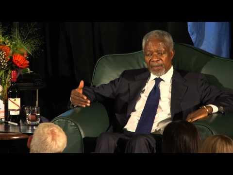 Kofi Annan Part 2, Q&A September 18, 2012 - Bon Mot Book Club