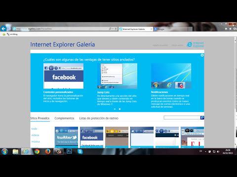 Como configurar Internet Explorer 11