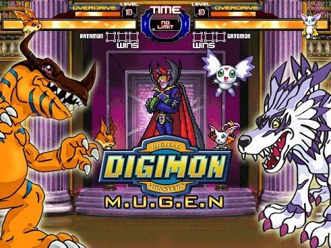 DIGIMON M.U.G.E.N - DOWNLOAD (2015 UPDATE) by RistaR87